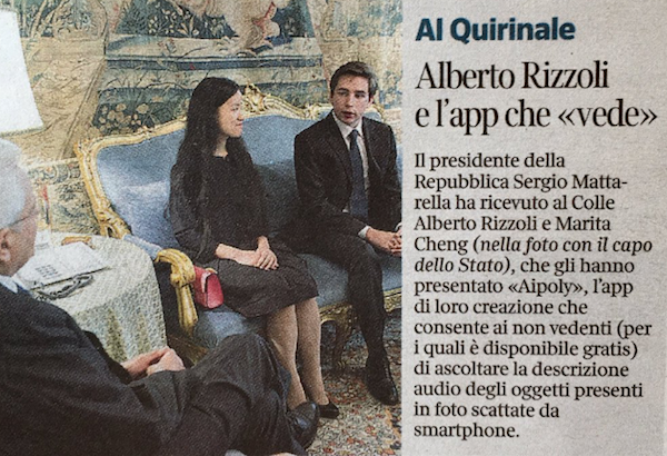 President Italy Newspaper