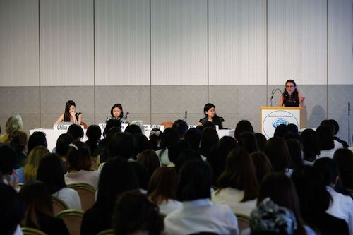 Global Summit of Women Tokyo panel