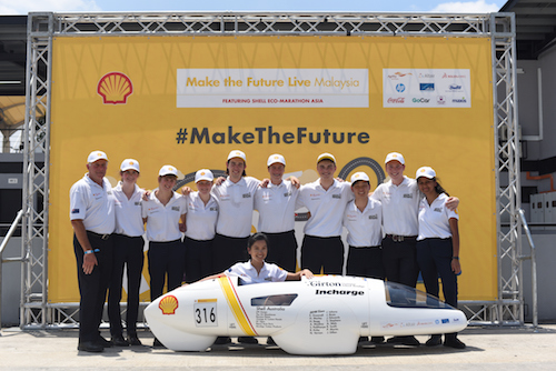 Shell Incharge team and I